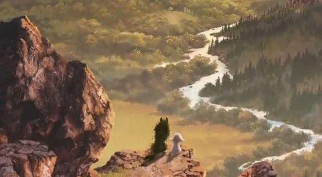 Gabu and Mei - Arashi no Yoru ni