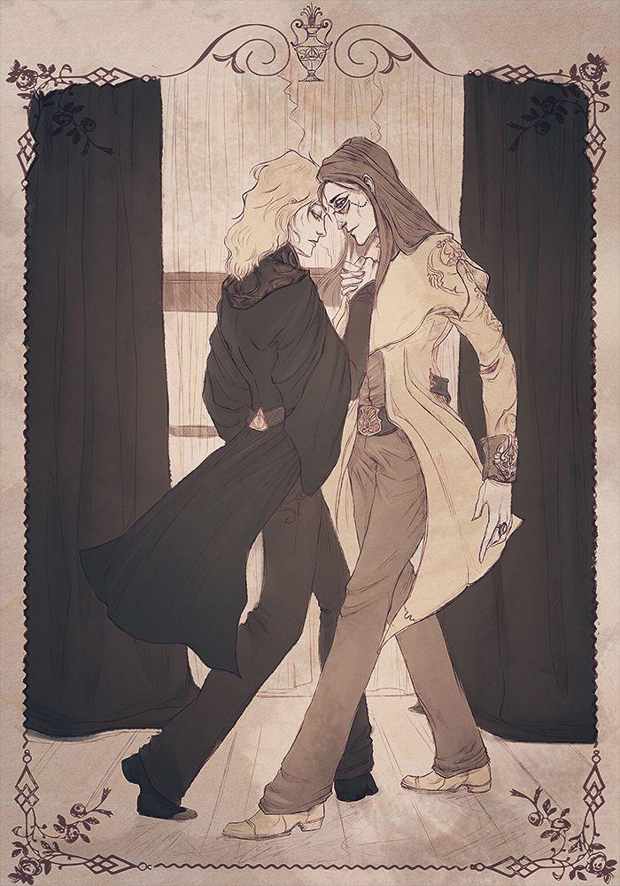 """WTF HP Dark Side 2016 - """"Танец первый"""" (авт. Tyal)  Дамблдор Альбус/Гриндельвальд Геллерт"""