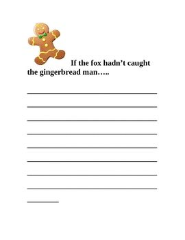 gingerbread man writing paper Creating a story about the gingerbread man is a great way to try your hand at  book making with kids  it's also a great way to incorporate sight words into  reading and writing the text  the kids stamped their hands a few time onto the  paper.