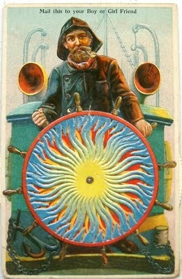 postcardiva postcard blog: Antique KALEIDOSCOPE Mechanical Postcards