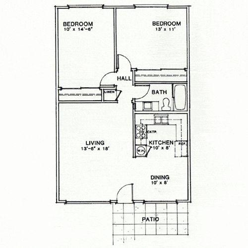 33 Best Images About Floorplans On Pinterest 1 Bedroom