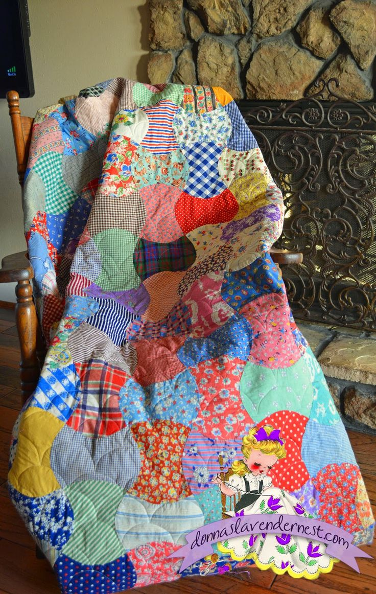 Donna's Lavender Nest: Vintage Quilt All Quilted