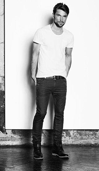 Maatgids voor jeans, heren van BOSS Orange