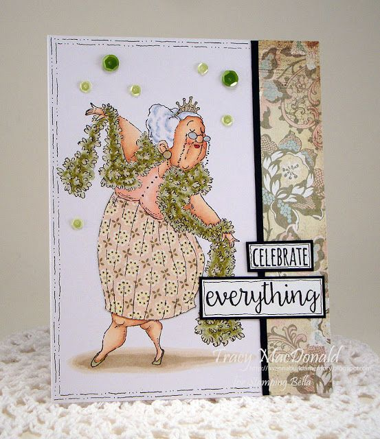 celebrate everything card by Tracy MacDonald