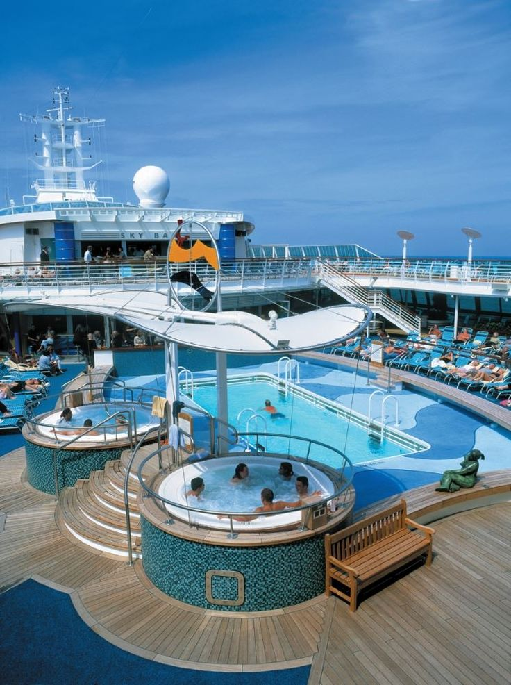Royal Caribbean Brilliance of the Seas. The Brilliance cruises from Tampa to the Caribbean.