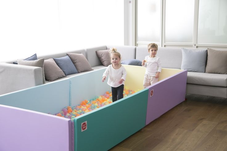 Bumpermat Scandia - two linked up together! Soft playpen