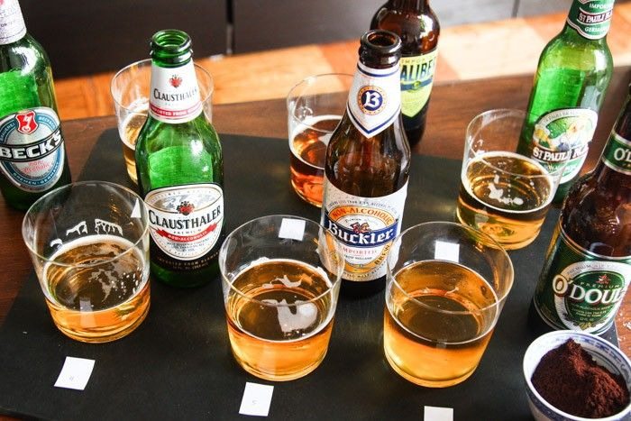 Non-alcoholic Beer testing