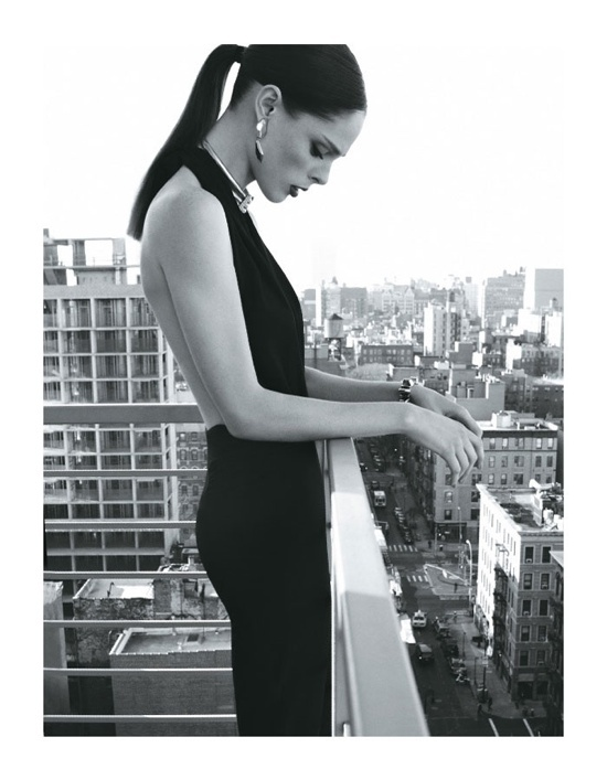 Coco RochaModels, Editorial, Beautiful, Max Abadian, Cocorocha, Little Black Dresses, Fashion Photography, Elle Brazil, Coco Rocha