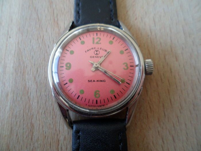 Currently at the #Catawiki auctions: Favre Leuba – Vintage c.1960's wrist watch – Unisex