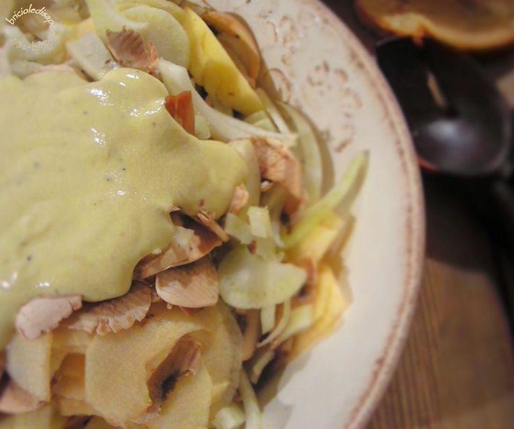 Briciole di Sapori           : Insalata leggera di finocchi con granella di nocci...