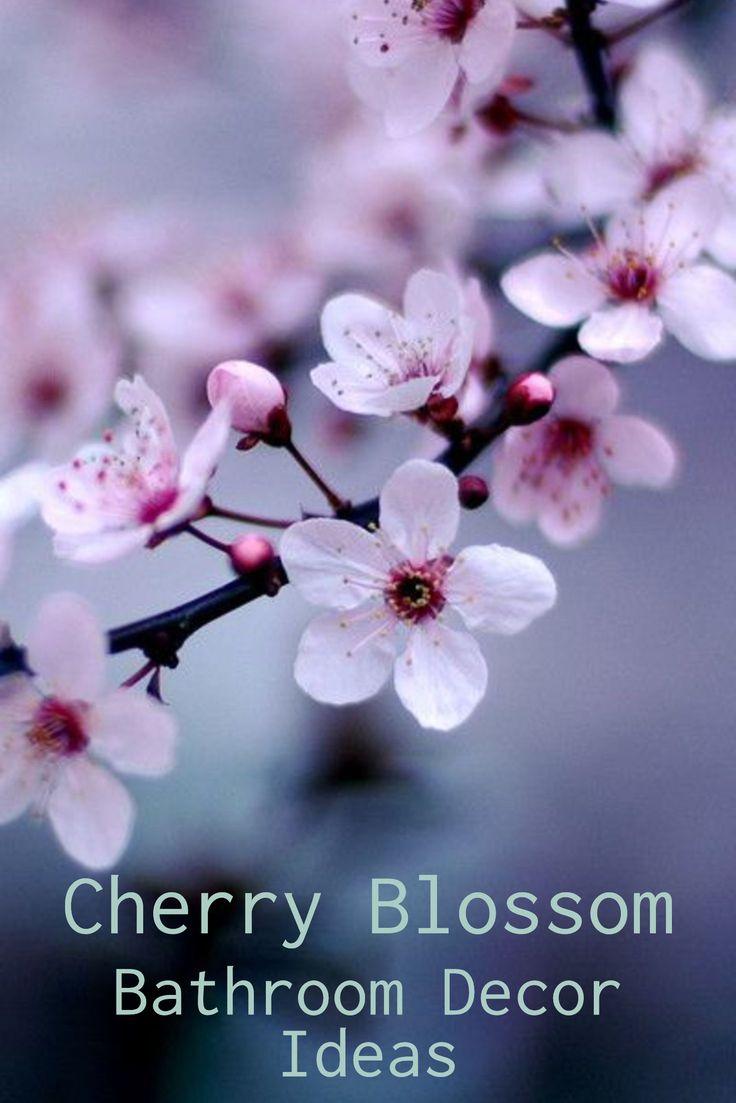 Beautiful Japanese Cherry Blossom Bathroom Ideas