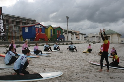 Week 1 Lessons in Cape Town - Ticket to Ride Surf Worldwide Adventures and Instructor Courses - Gap Years, Mini Gaps and Career Breaks http://www.ttride.co.uk/surf-instructor-training