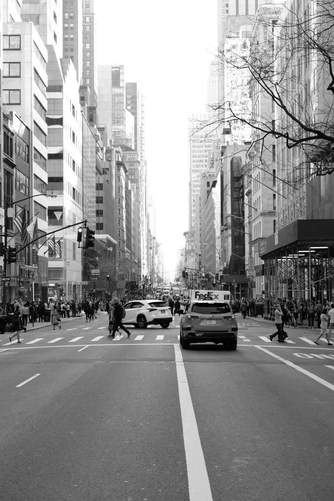 New York City Wallpaper Nyc Black And White Streets Street View Black And White City