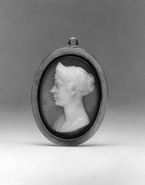 1797: Pendant with Cameo Portrait of the Empress Josephine