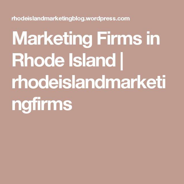 Marketing Firms in Rhode Island | rhodeislandmarketingfirms