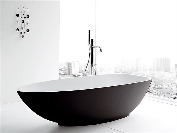 oval free standing bathtub colors white colors and