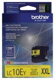 Brother - LC10EY XL High-Yield Ink Cartridge - Yellow
