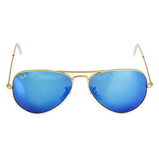 Ray Ban Unisex Sonnenbrille Aviator, Gr. Large (Herstellergröße: 55), Gold (gold 112/17) #mode #fashion #sale #lookgood #jeans #modern #lady
