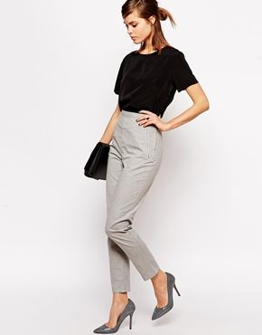 Enlarge ASOS Woven Cigarette Trousers