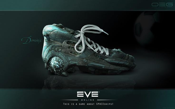 EVE Online Dominix spaceship