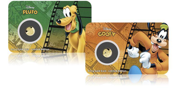 zlote-monety-disney-pluto-goofy
