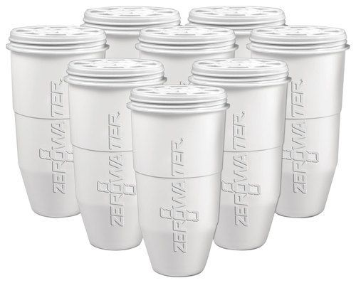 ZeroWater - Zero Water Replacement Filters (12 Pack) 5 Stage Ion Exchange Filters - Multicolor