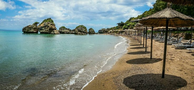 Porto Azzuro Beach On Zakynthos island Greece Photography by Alistair Ford