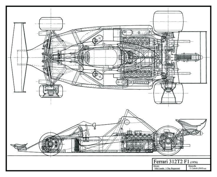 De 50 bästa Race Car Blueprints-bilderna på Pinterest