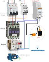 Esquemas eléctricos: Maniobra motor bomba