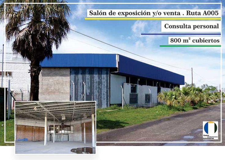 En Ruta Nacional A005, Río Cuarto, Córdoba, 850m2 Cubiertos Total, 40m De Vidriera Apto Para Dividir, Con Oficinas Y Baños Individuales