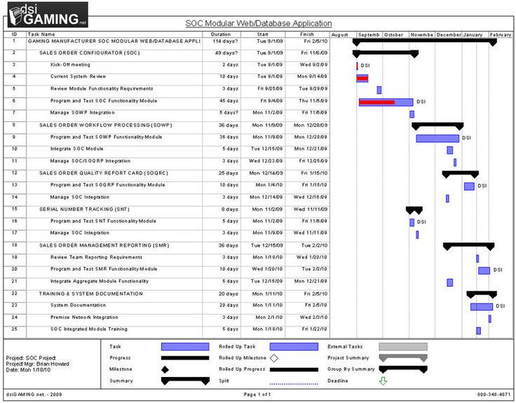 how to write project management plan update