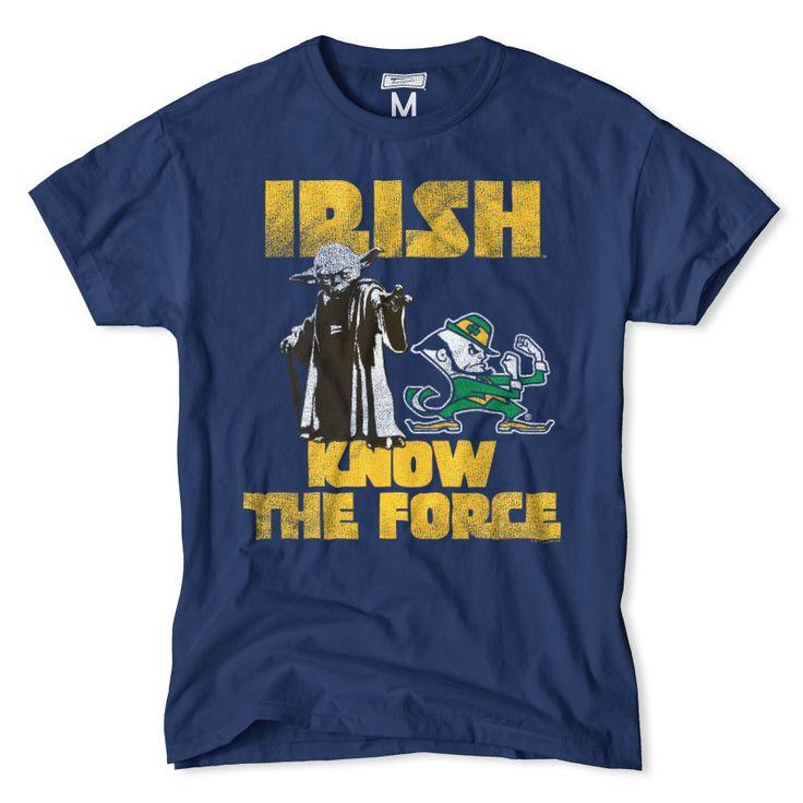 Notre Dame Star Wars Yoda T-Shirt