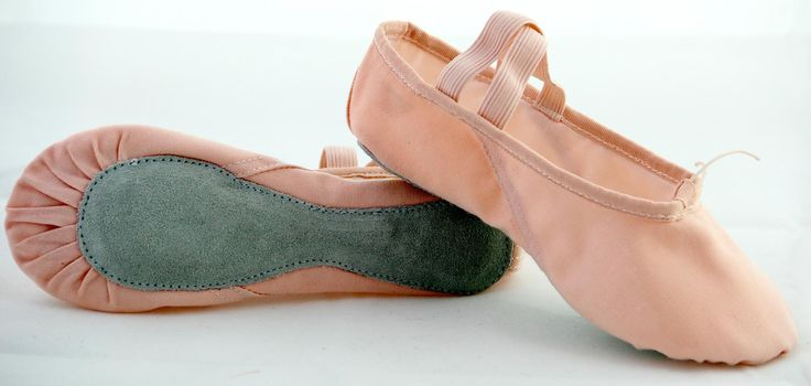 sole  of  all   with   canvas  ballet  shoes