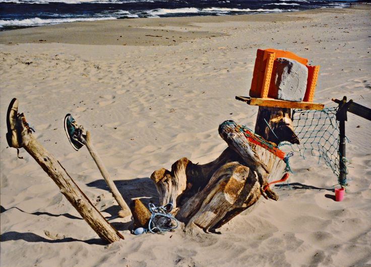 "Yury Ermolenko, ""HANGOVER ON THE SAND"" (Land art project ""Baltic - Hel""), 2003, Hel Peninsula, Baltic Sea, Poland #YuryErmolenko #юрийермоленко #ЮрийЕрмоленко #yuryermolenko #юрiйєрмоленко #ЮрiйЄрмоленко #юрийермоленкохудожник #landart #balticsea #sea #sky #amazing #RapanStudio #photo #photography #metaphysics #metaphysical #philosophy #installation #лэндарт #инсталляция #art #contemporaryart #modernart #magic #texture #лэндарт #poland #hel #helpeninsula #artproject #искусство #creative"