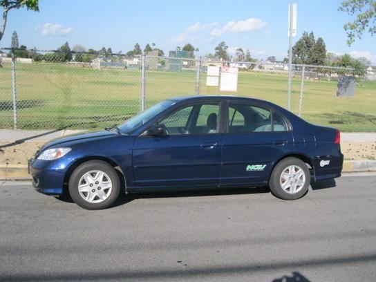 Sedan 2005 Honda Civic Gx Sedan With 4 Door In Costa Mesa Ca 92626 Honda Civic Sedan Civic