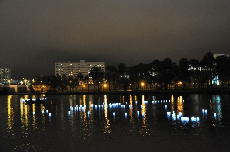 GLO - Give, Love, Observe event. Thank you to everyone who purchased a lantern and came out to Curtis Hixon Park last weekend to honor our loved ones.