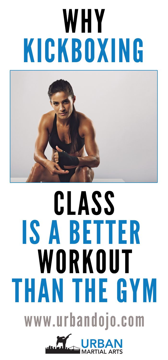 Trying to decide between a regular gym and a kickboxing class? Here are 5 reasons why kickboxing class is a better workout than the gym.