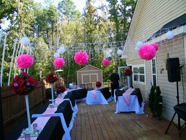 Home Wedding Reception Fast And On A Tight Budget