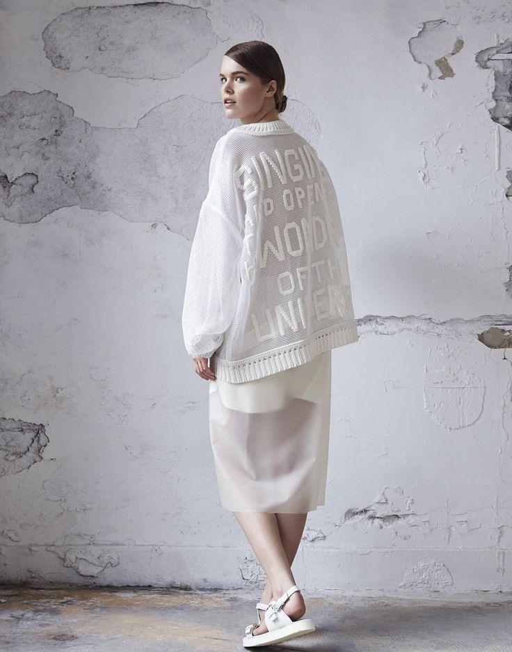 Hannah Jenkinson #fashion #knitwear #embroidery.