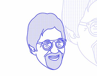 "Check out new work on my @Behance portfolio: ""Line Iconic Portrait"" http://be.net/gallery/54619163/Line-Iconic-Portrait"