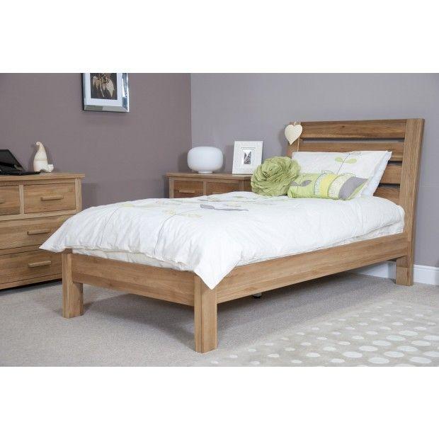 Solid Oak 3 Single Bed Luxury Bedroom Furniture Bedroom