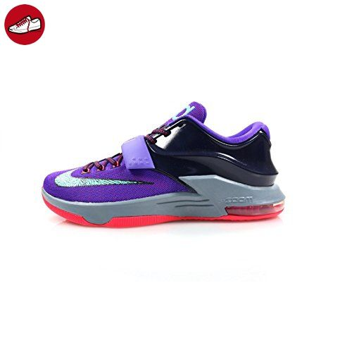 Nike Air Zoom Kevin Durant KD VII 7 Hallenschuhe Aktuelles Modell 2014 lila/türkis/grau/infrared, Schuhgröße:EUR 47.5 - Nike schuhe (*Partner-Link)