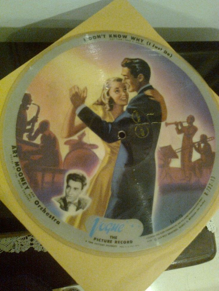 Vogue Picture disc R713-32/R732-13 Art Mooney and His Orchestra P36-P40 Rare #BigBandSwing