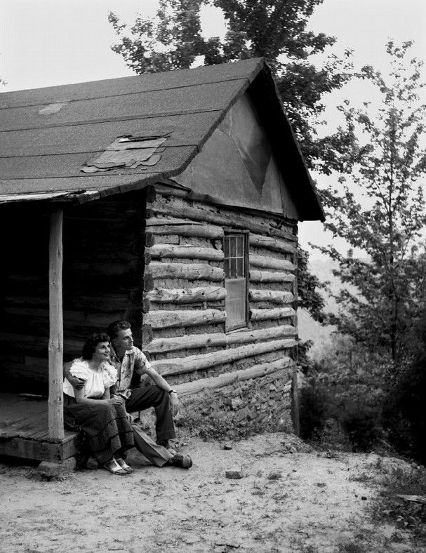 May, 1951 -  Billy Graham and his wife, Ruth, are shown at their home in the mountains in Montreat, NC.  (Rudolph Vetter / The Commercial Appeal)