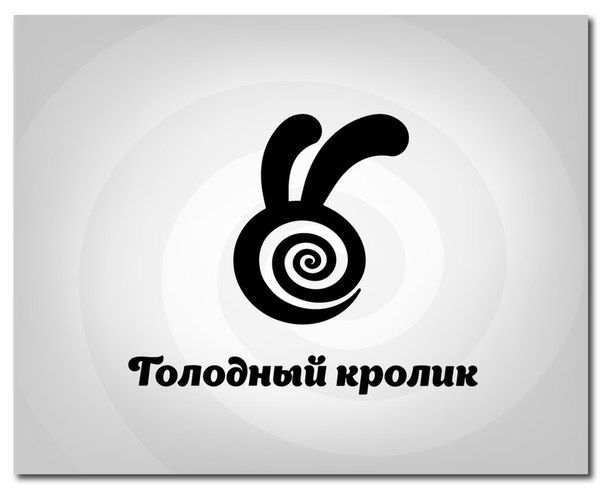 A Logo For a Night Club Hungry Rabbit