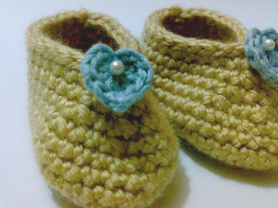 207 Best Crochet Baby Booties Images On Pinterest Crochet Baby