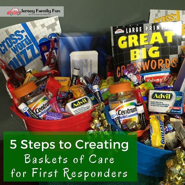 5 Steps to Creating Baskets of Care for First Responders part of our 12 Days of…