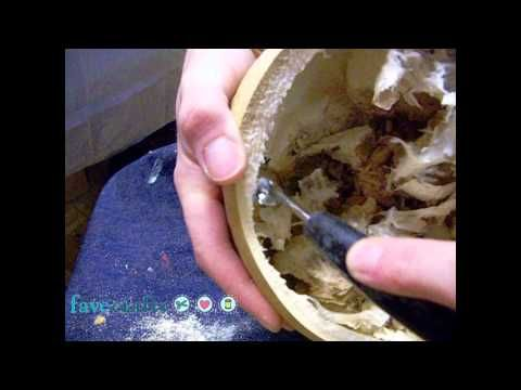 How to Clean the Interior of a Gourd by Bernadette Fox
