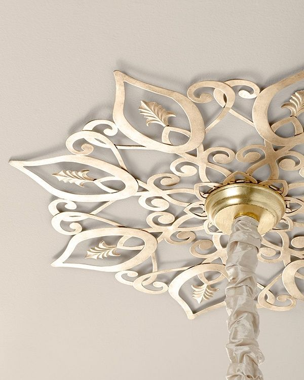 Ceiling Medallions For Chandeliers Diy | Star Ceiling Medallion On Picsity