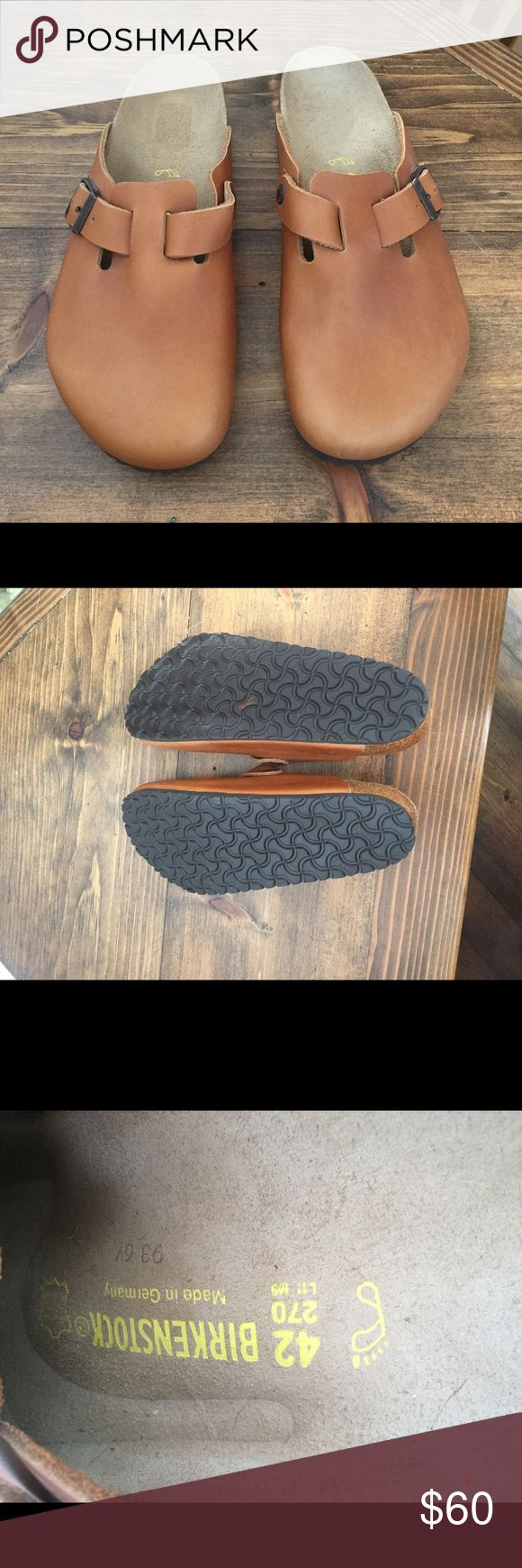Birkenstocks Boston Clogs Great shoes in amazing condition! Only worn a handful of times. Feel free to ask questions or shoot me an offer. Birkenstock Shoes Loafers & Slip-Ons